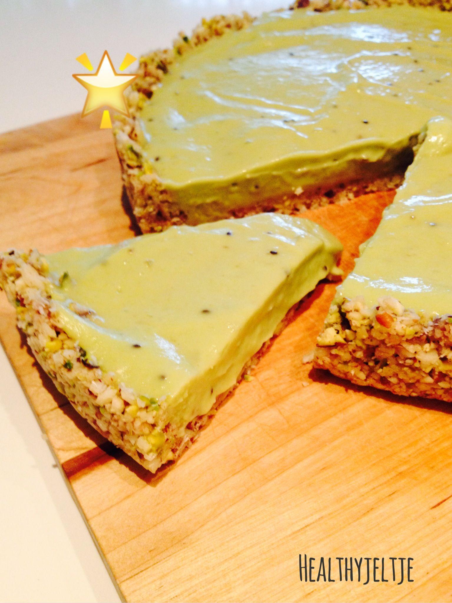 avocado raw food taart
